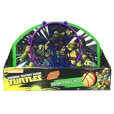 What Kids Want Teenage Mutant Ninja Turtles Basketball Set Toy: Toys & Games