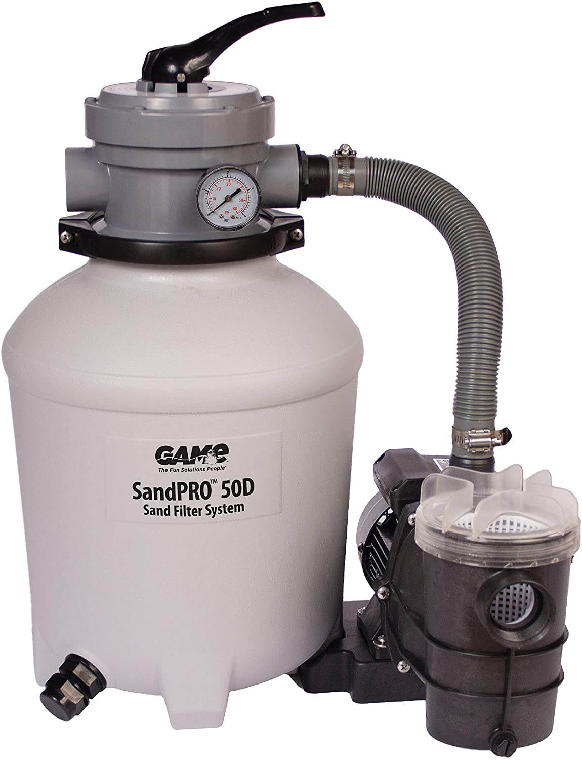 GAME SandPRO 50D Series Above Ground Pool Sand Filter - (Best Rated)