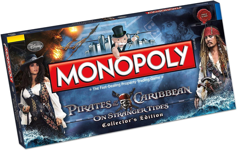 Monopolio de Piratas del Caribe Junta Juego: Amazon.es: Juguetes y juegos