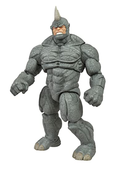 9/'/' SELECT SPIDER-MAN VILLAIN THE RHINO ACTION FIGURES COMIC KIDS DIAMOND TOY