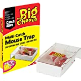 The Big Cheese Live Catch Multi-Catch Mouse Trap, Baited Ready To Use, Catches 4 or More Live Mice