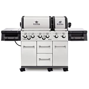Broil King 957887 Imperial XLS Gas Grill, 6-Burner, Stainless Steel