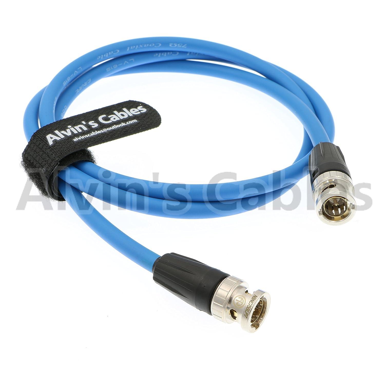 Alvins Cables 12G HD SDI Cable coaxial de vídeo neutrik BNC Macho a Macho para cámara de vídeo 4K: Amazon.es: Electrónica