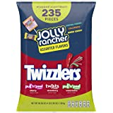 JOLLY RANCHER & TWIZZLERS Bulk Halloween Candy Variety Pack, 66.88 Oz, Fun Size, 235 Pieces