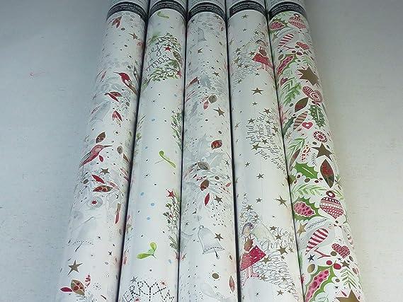 Lot de 524 /étiquettes autocollantes en papier pour cadeau de No/ël 131 designs