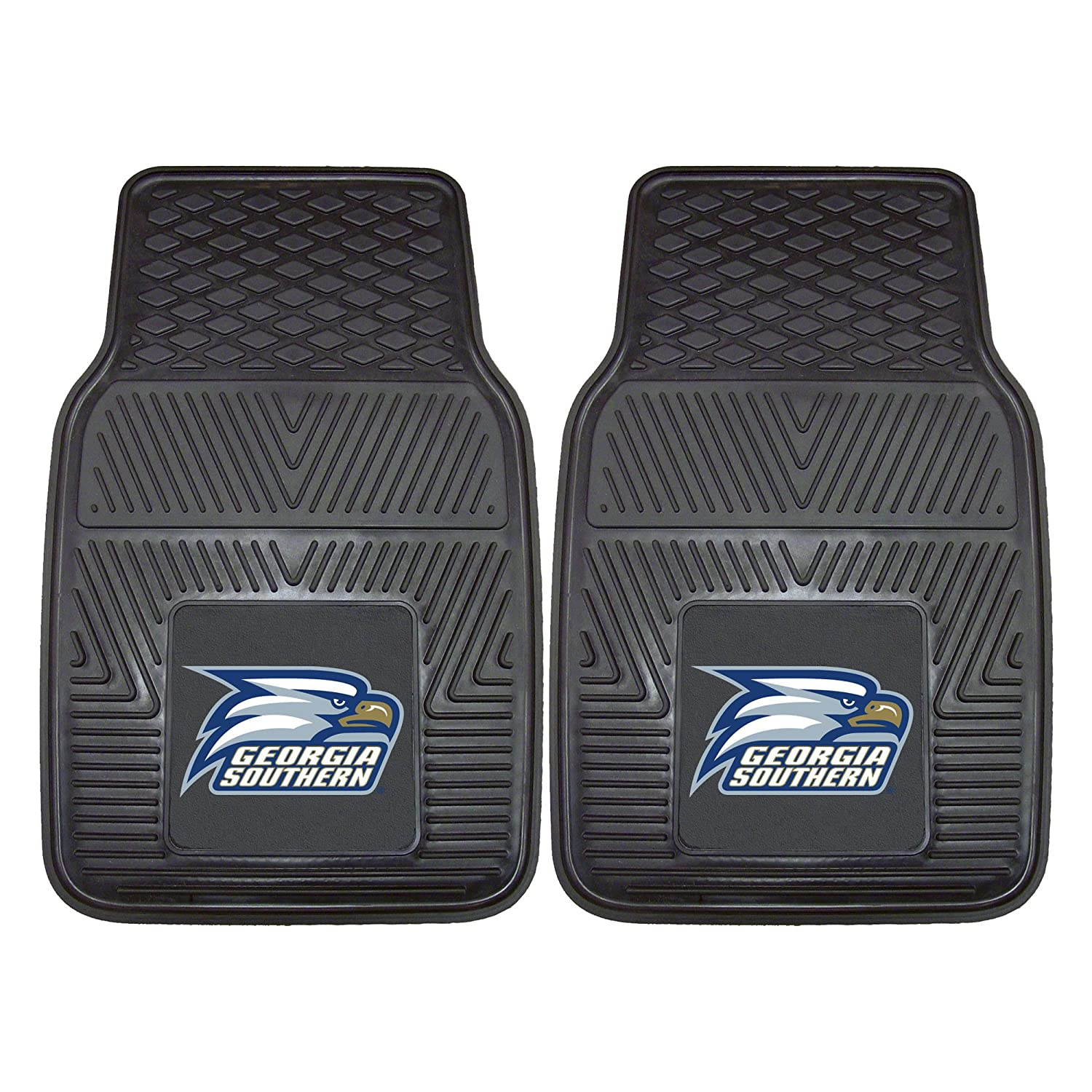 Fanmats 13924 Georgia Southern University Vinyl Car Mat Set, 2 Piece