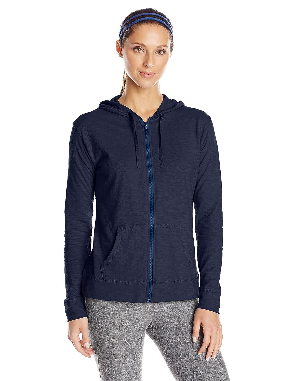 Hanes Women's Jersey Full Zip Hoodie Hanes Women' s Activewear O9249