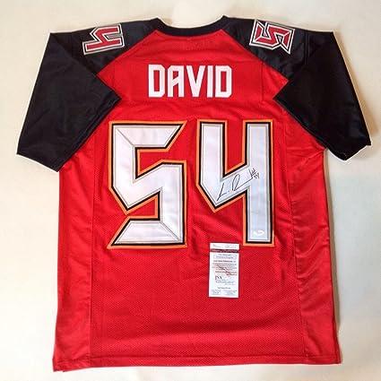 99207d139 Signed Lavonte David Jersey - Red !!! - JSA Certified - Autographed NFL  Jerseys
