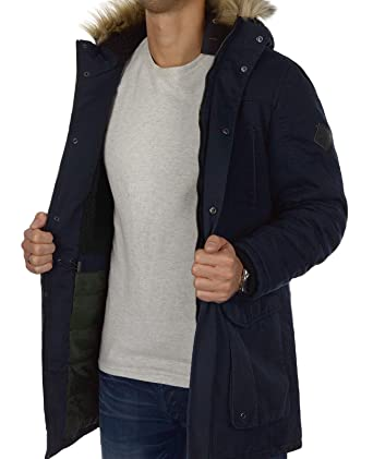 many fashionable sneakers for cheap fashion ONLY & SONS Herren Parka onsJONAS Wintermantel Winterjacke ...