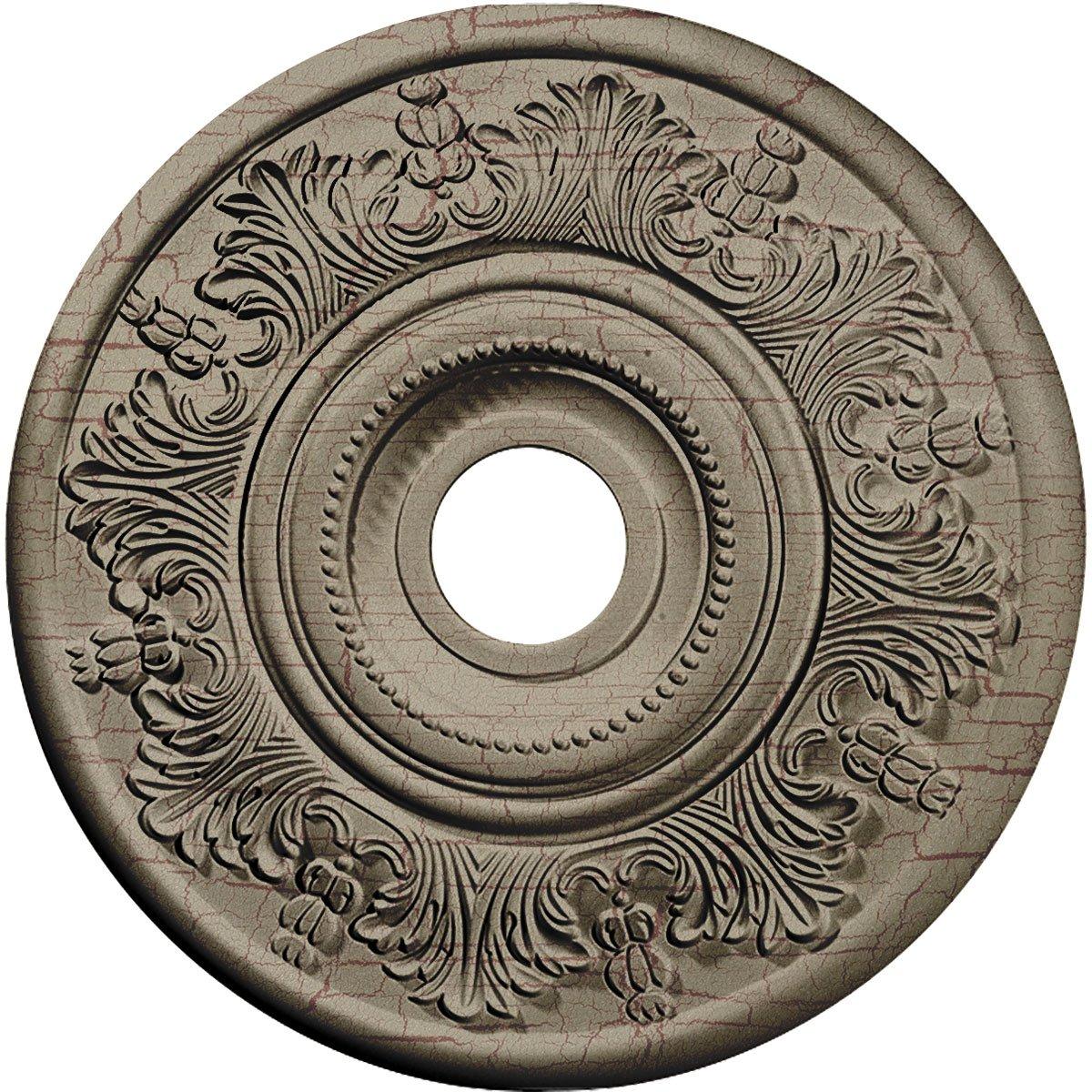 Ekena Millwork CM20VIGDC Vienna Ceiling Medallion, Gobi Desert Crackle