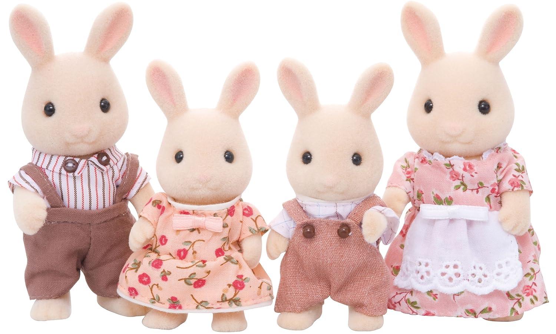 Sylvanian Families Familia conejos blancos (Epoch para Imaginar 4108 ...
