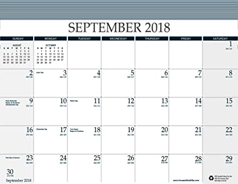 House of Doolittle Refill for Reminder Wall Calendar (#HOD13502), 16 Months  September 2018 to December 2019, 11 5 x 9 75 Inches (HOD137-19)