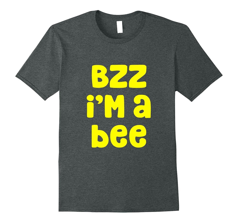 Bzz I'm A Bee Costume Halloween T-Shirt-ANZ