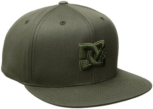 716de742 DC Men's Snappy Trucker Hat, Fatigue Green, One Size: Amazon.in ...