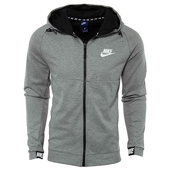 Nike Herren M NSW Advance 15 Hoodie Fz Fleece Trainingsjacke Mit Kapuze