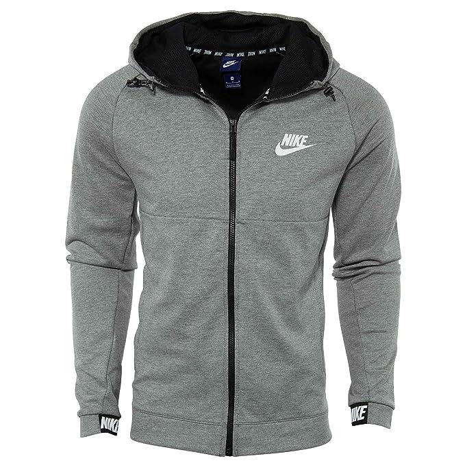 Nike Herren M NSW Advance 15 Hoodie Fz Fleece Trainingsjacke Mit Kapuze