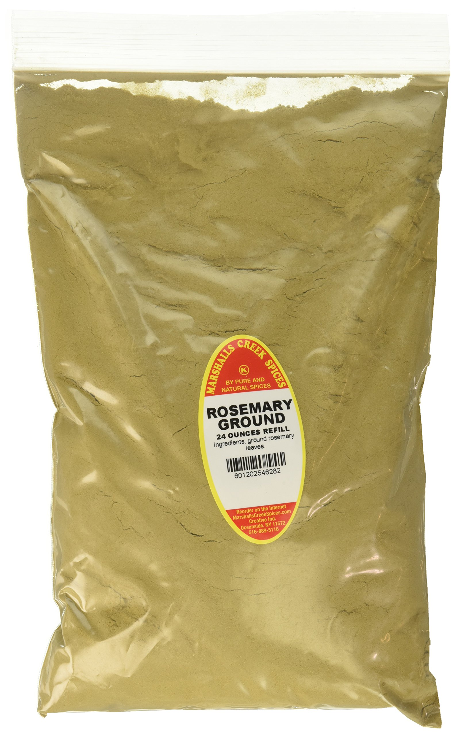 Marshalls Creek Spices Family Size Kosher Rosemary Ground Refill, 24 Ounce