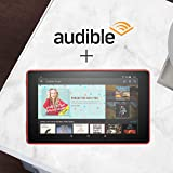 Fire HD 8 Tablet Bundle with Audible Free Trial (1 month with auto-renew)