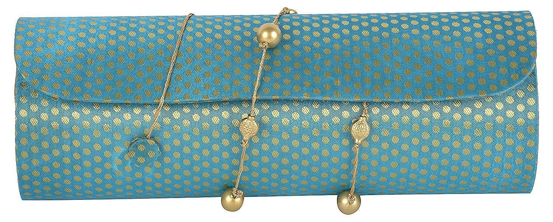 Anas Embroidery レディース US サイズ: Free Size カラー: ブルー   B079M85NFD
