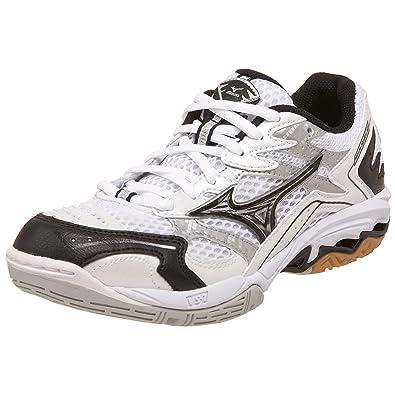 615fe7c5bad9 Amazon.com   Mizuno Women's Wave Spike 12 Volleyball Shoe, White ...