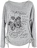 Emma & Giovanni - T-shirt imprimé Papillons - Femme