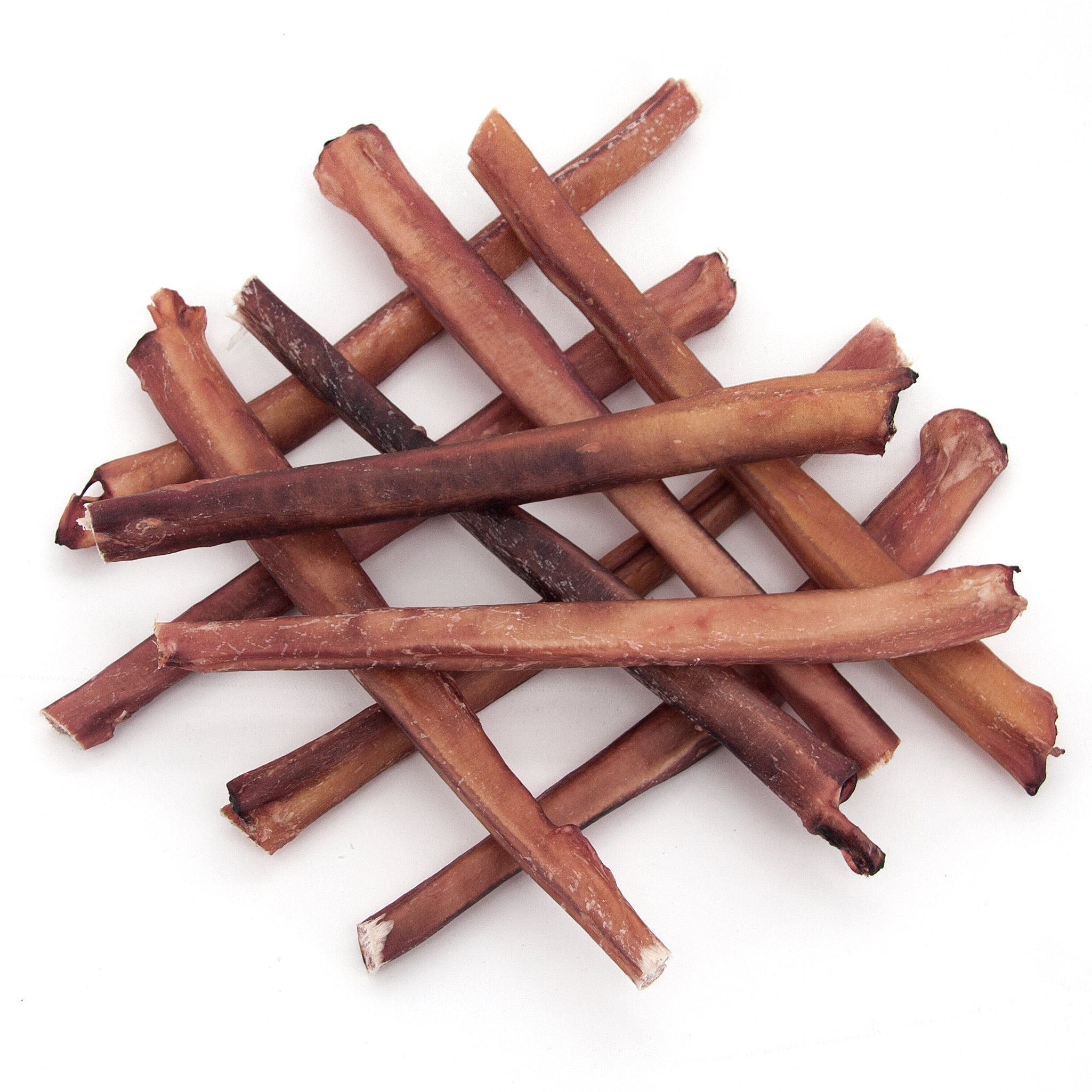 GigaBite Odor-Free Bully Sticks - USDA & FDA Certified All Natural, Free Range Beef Pizzle Dog Treat - by Best Pet Supplies