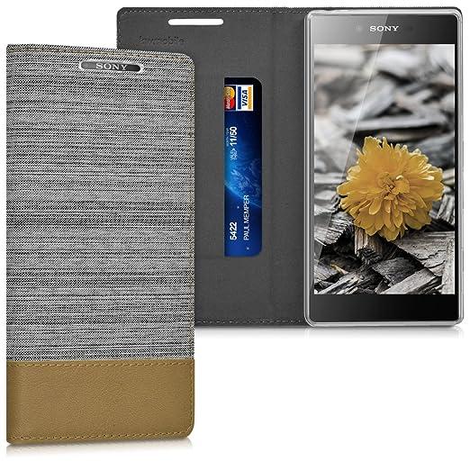 3 opinioni per kwmobile Cover Flip per Sony Xperia Z5 Premium- Custodia a libro protettiva per