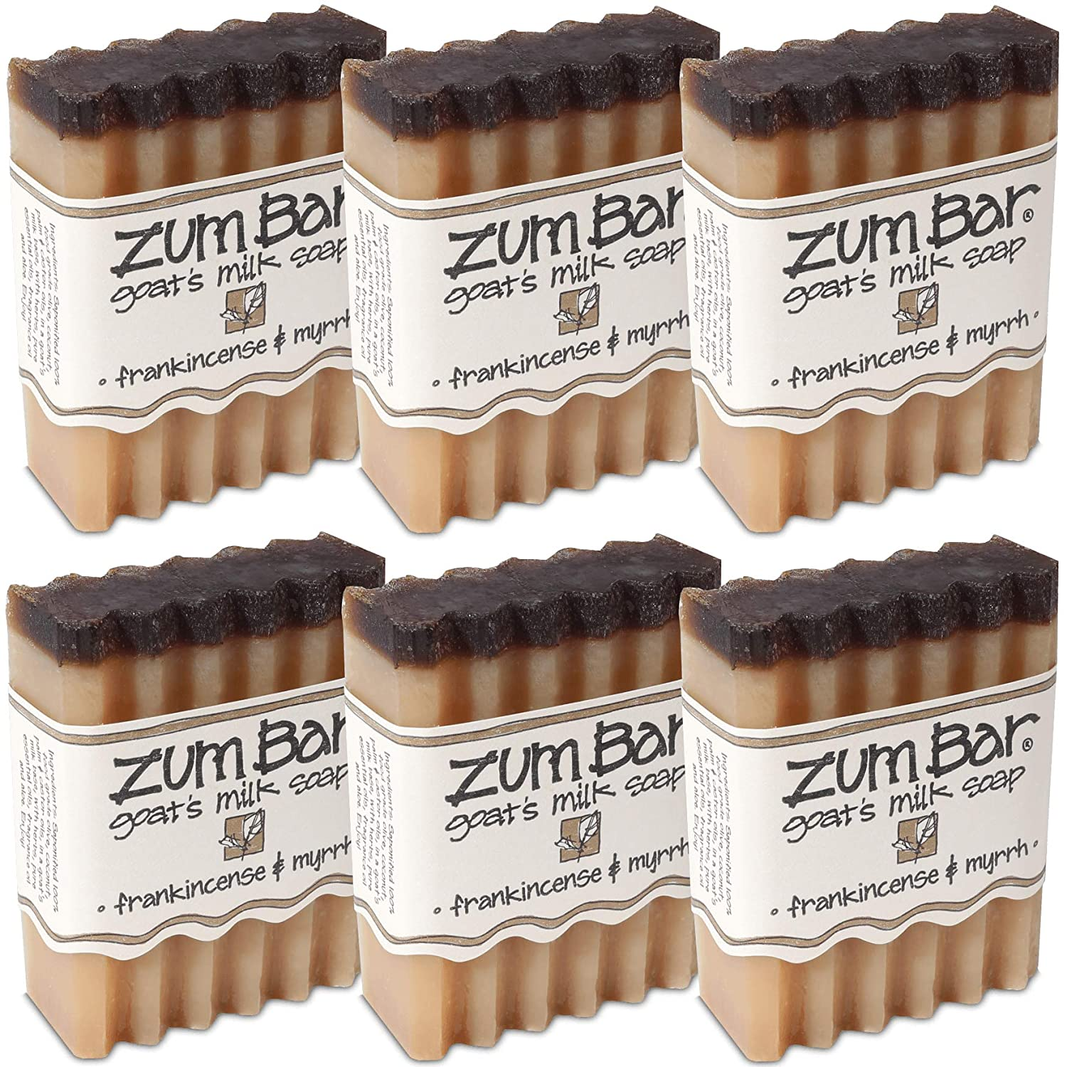 Indigo Wild: Zum Bars Frankincense and Myrrh 6 Pack