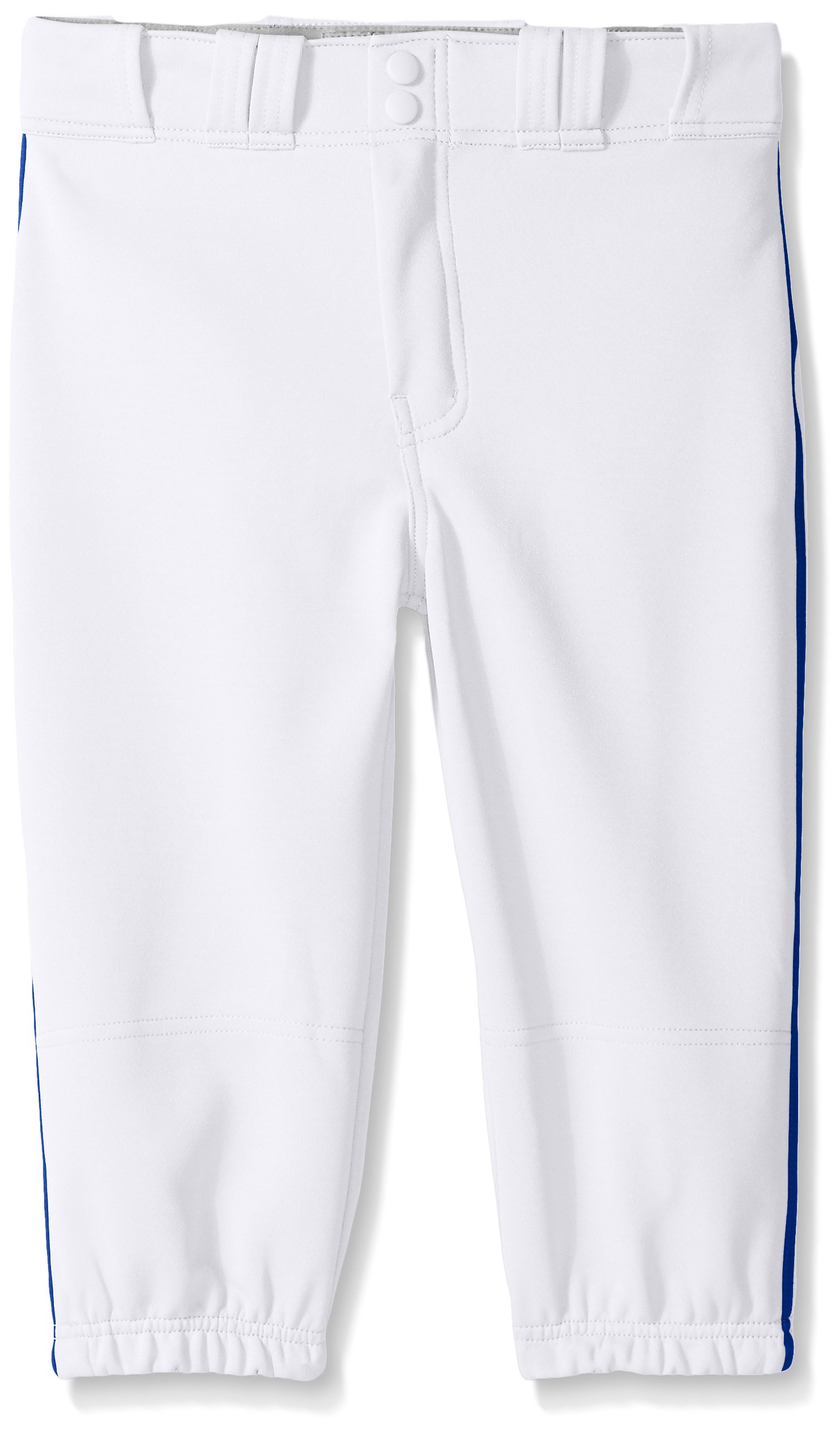Easton Boys PRO Plus Piped Knicker, White/Royal, Small
