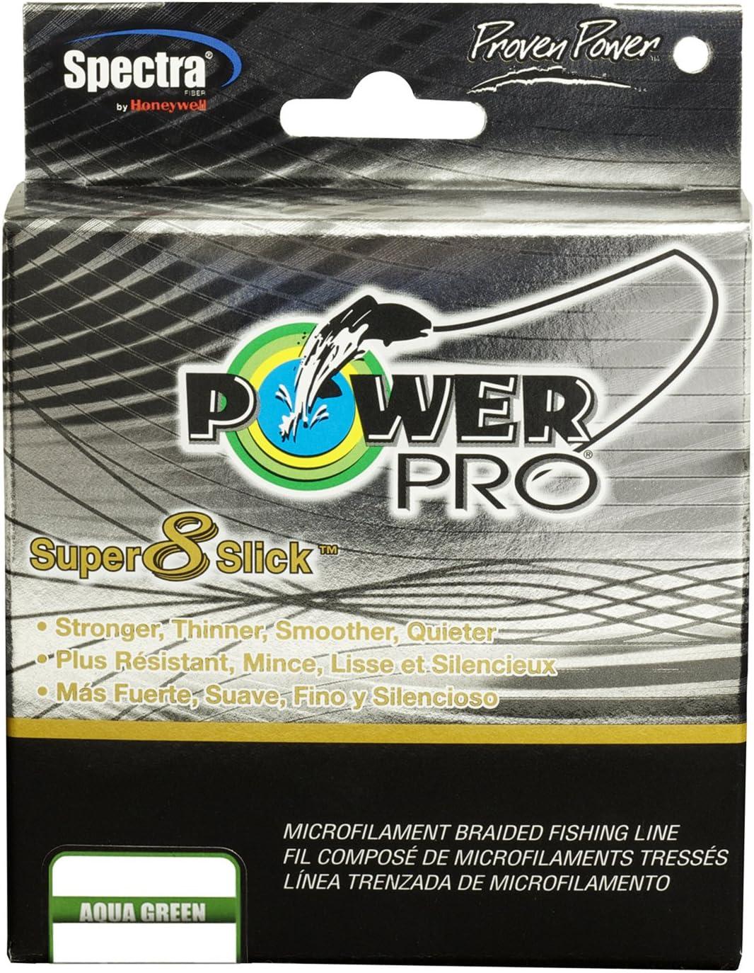 PowerPro 31100151500Q Super 8 Slick Braided Fishing Line 15Lb