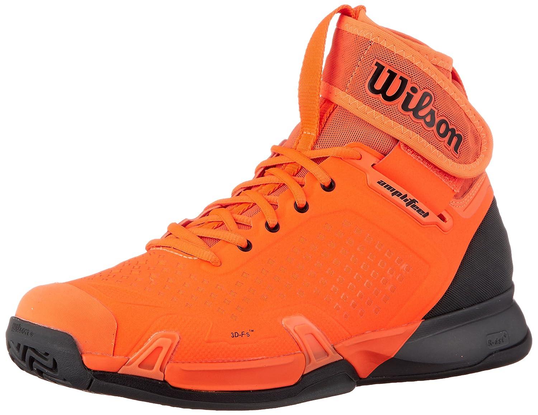Wilson Men's Amplifeel Tennis Shoe B07CGQTY84 13 M US|Shocking Orange/Magnet/Black