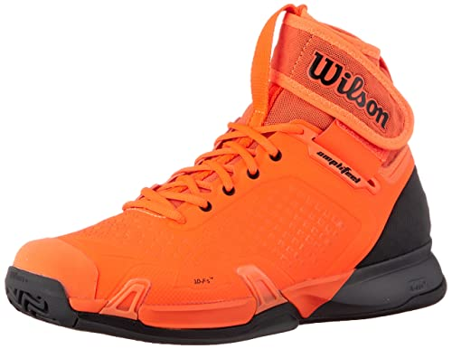 f866cee650d9 WILSON Unisex Amplifeel Tennis Shoes Shock Orange and Magnet -  (WRS324090-S18) Orange