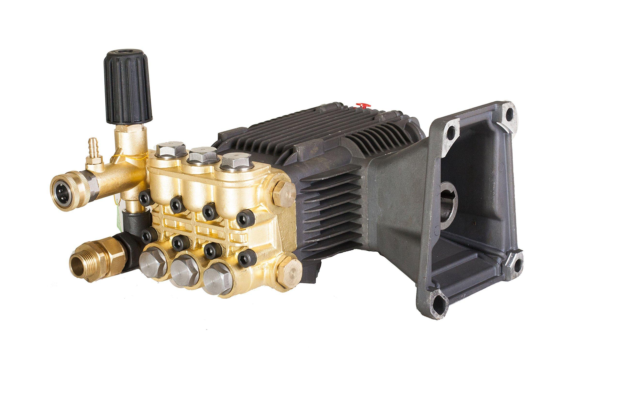 CANPUMP Pressure Washer Pump 3600psi @ 4.5gpm 13 hp 1'' Shaft Series 18mm Piston fits Cat General AR