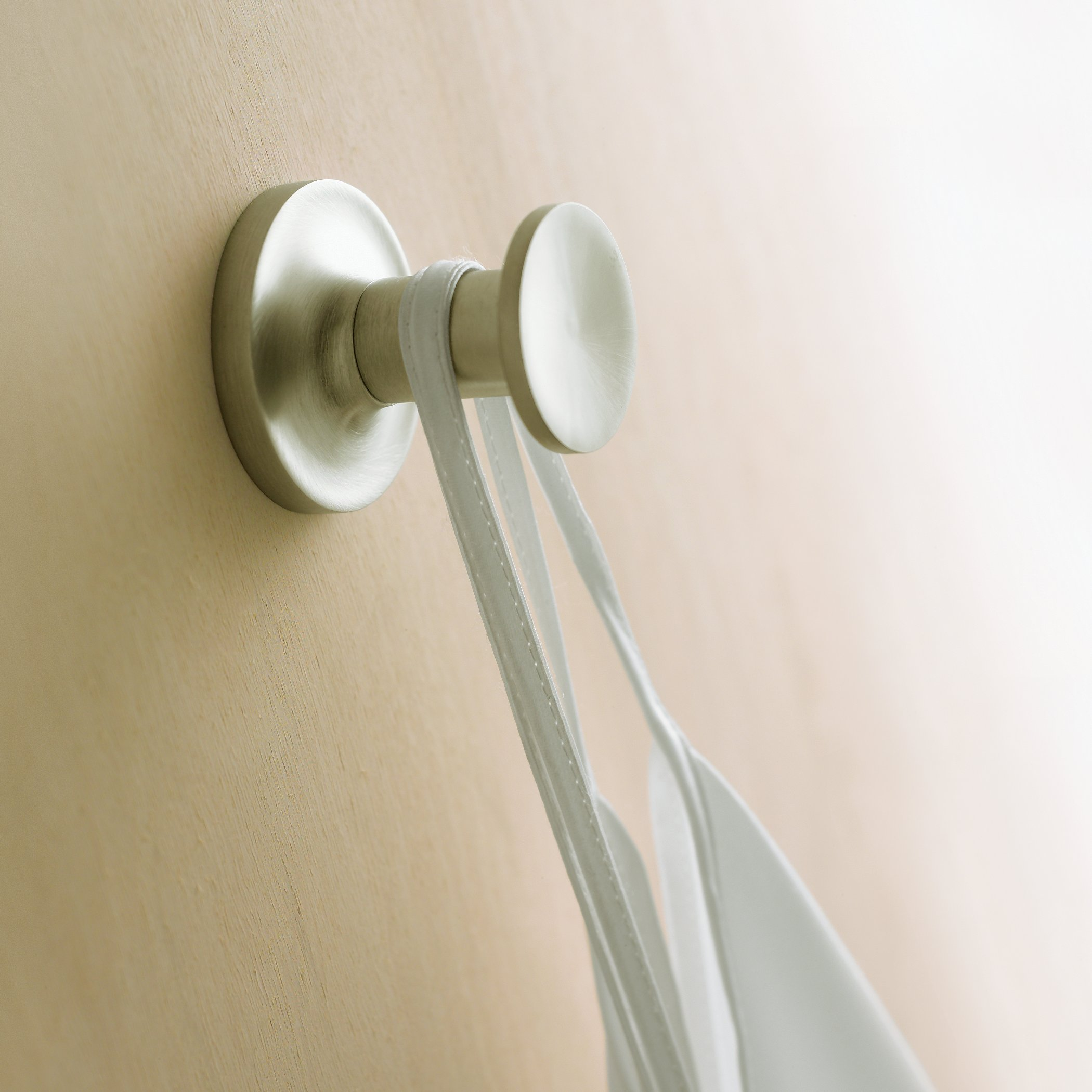KOHLER K-14443-BN Purist Robe Hook, Vibrant Brushed Nickel by Kohler (Image #3)