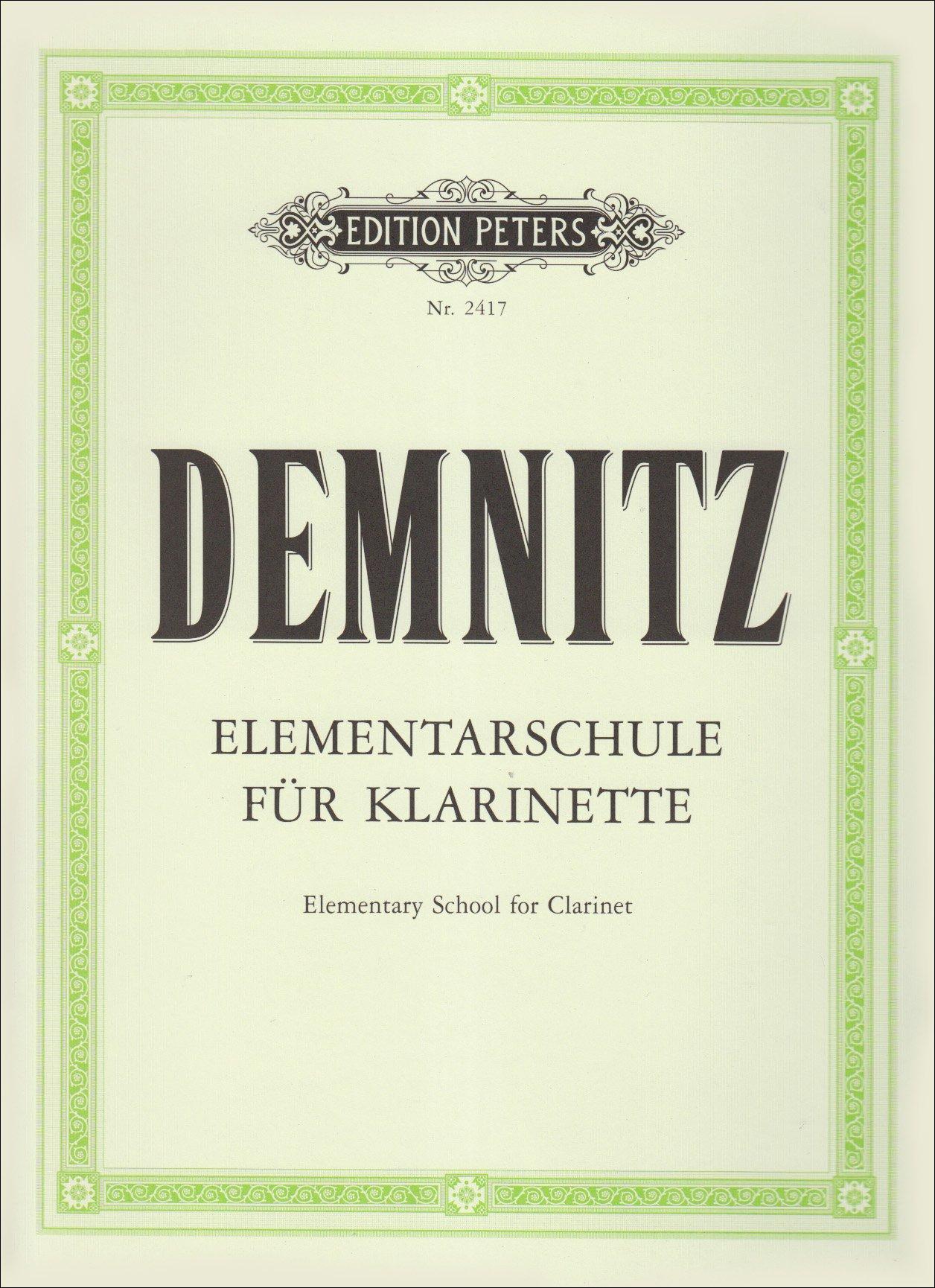 Elementarschule für Klarinette: Elementary School for Clarinet