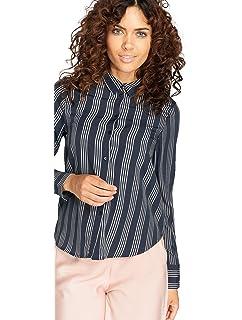 7fc1defefaf0ba Vero Moda Womens Gyana Long Sleeve Wrap Top in Black Multi  Vero ...