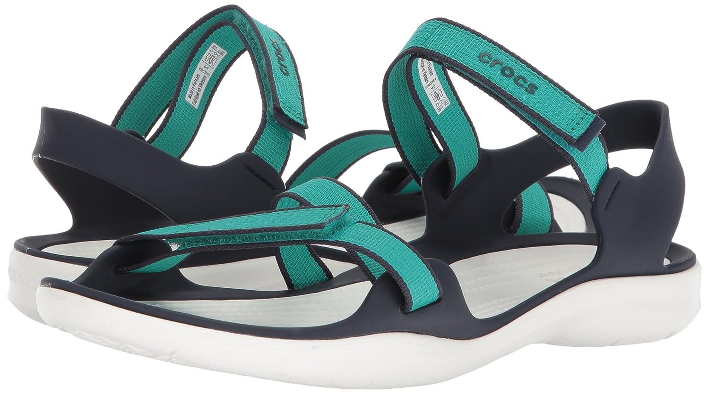 Crocs Women's Swiftwater Webbing Sandal B072Q67Q52 7 M US|Tropical Teal