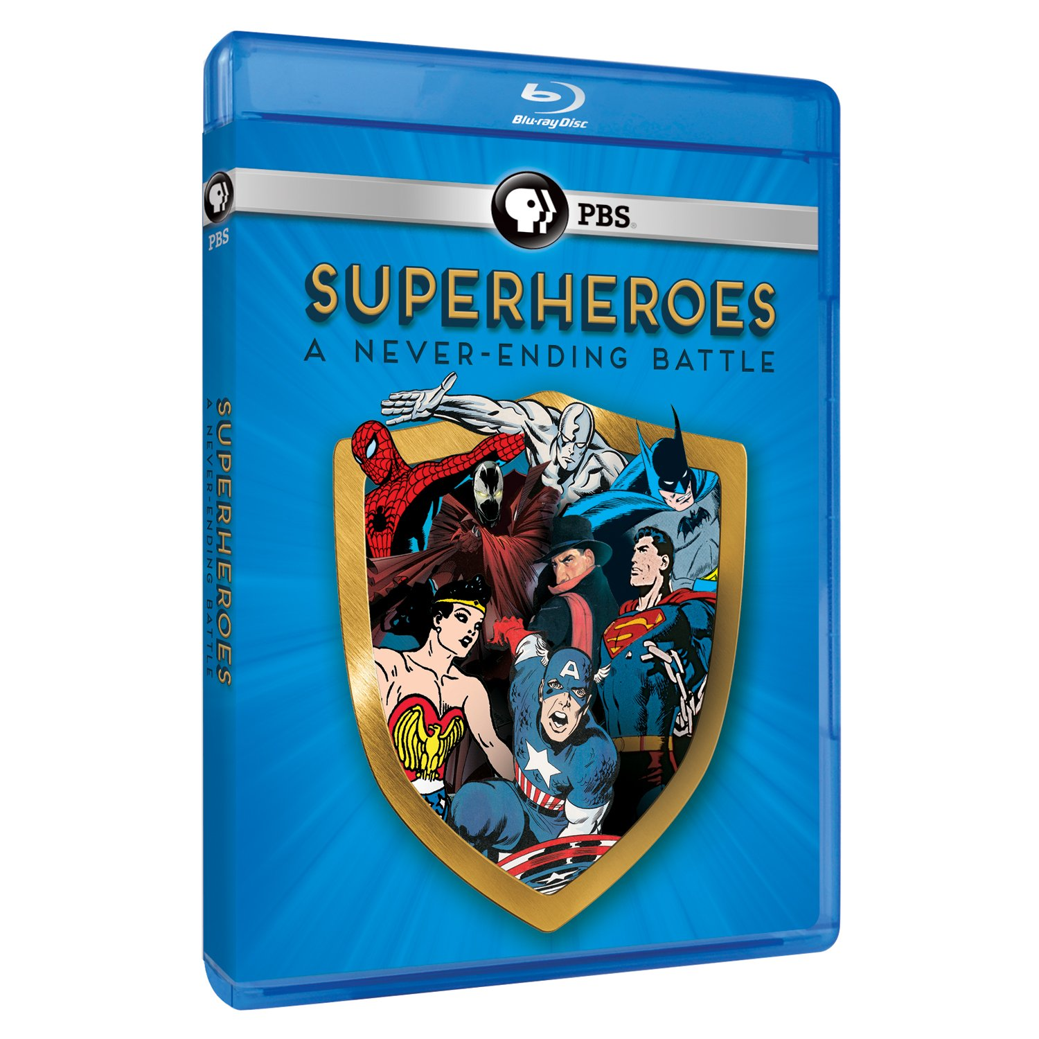 Blu-ray : Superheroes: A Never-Ending Battle (Blu-ray)