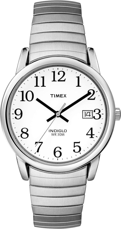 Timex Classic - Reloj de Cuarzo para Hombres, Correa de Acero Inoxidable