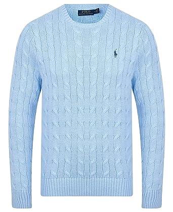 Ralph Lauren - Pull - Homme - Bleu - Large  Amazon.fr  Vêtements et  accessoires 00d0d619a5a