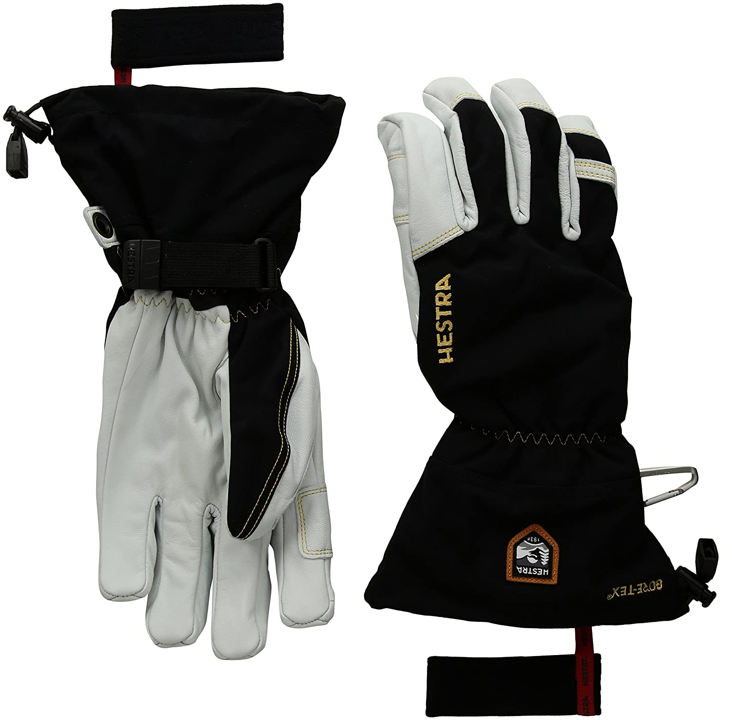 Hestra Gloves 31460 Army Leather GORE-TEX Black 9