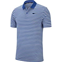 Nike Mens Dry Victory Polo Stripe Left Chest