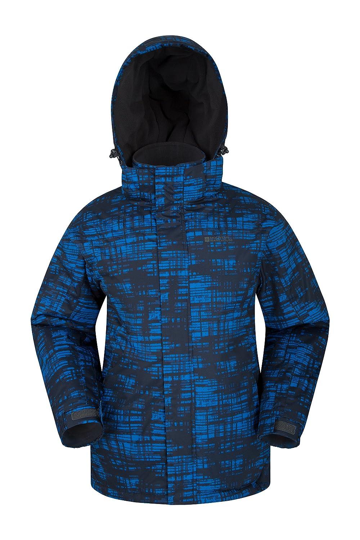 Mountain Warehouse シャドー メンズ プリント付き スキージャケット 耐雪 断熱性 フリースの裏地 調節可能な裾とカフスとフード スキーとスノーボードに最適 B01HGUIPOY XXX-Large|コバルト コバルト XXX-Large