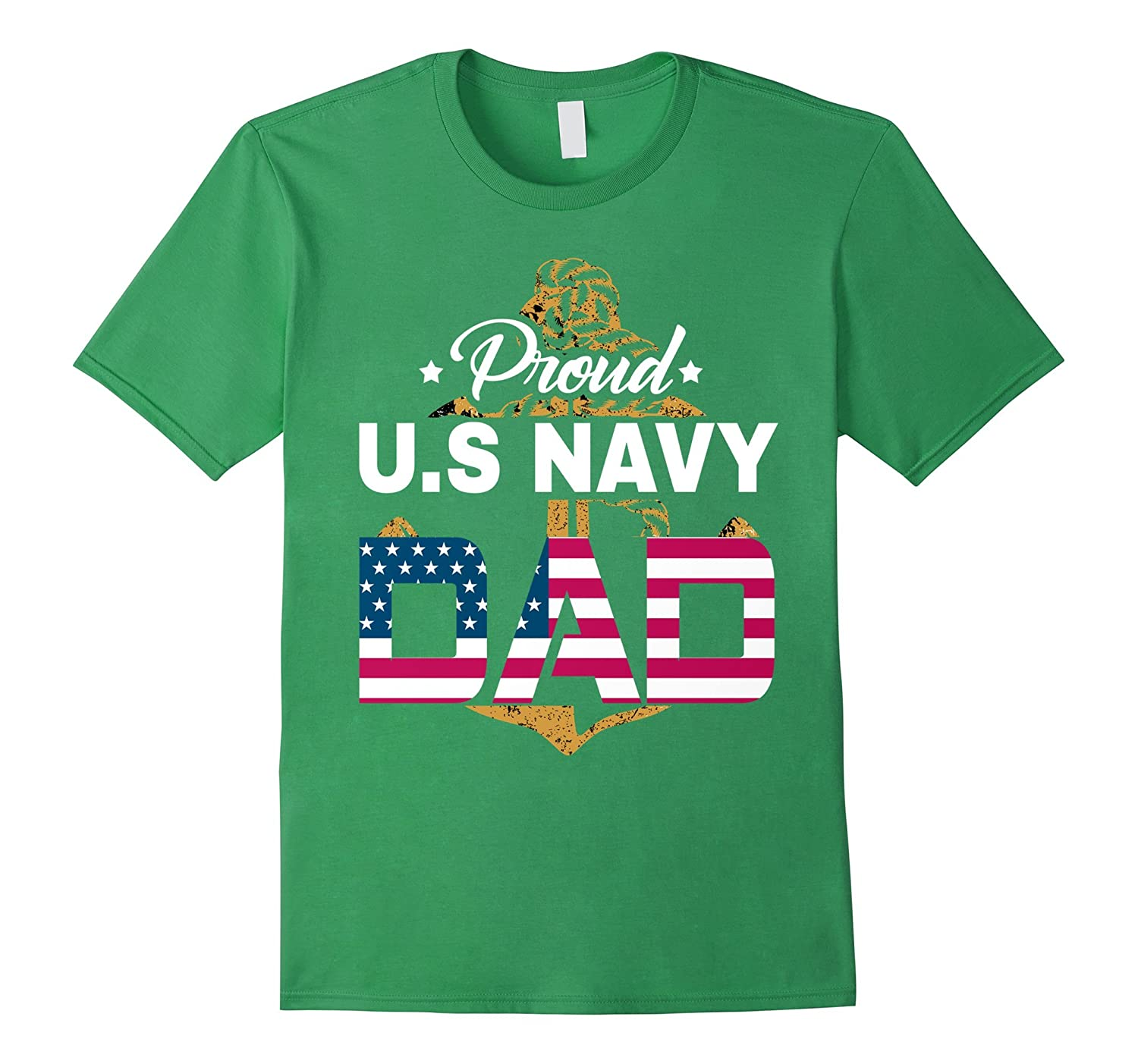 Proud US Navy Dad Shirt-Teehay