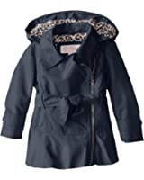 Jessica Simpson Little Girls' Trench Coat with Side Zip