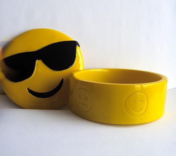 Amazon.com: Emoji – 'Gafas de sol' cerámico ...