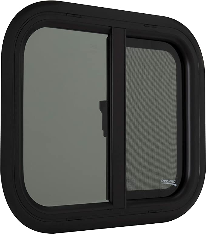 RecPro RV Window, Teardrop Horizontal Slide, RV Window Replacement