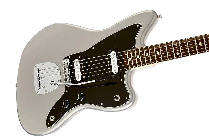 Fender 0149500505 Jazzmaster HH - Guitarra eléctrica para diapasón (madera de palisandro, olímpica), color blanco: Amazon.es: Instrumentos musicales