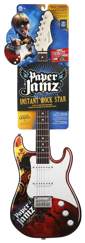 Wow Wee Paper Jamz Guitarra instantánea Rockstar Rock 2: Amazon.es: Juguetes y juegos