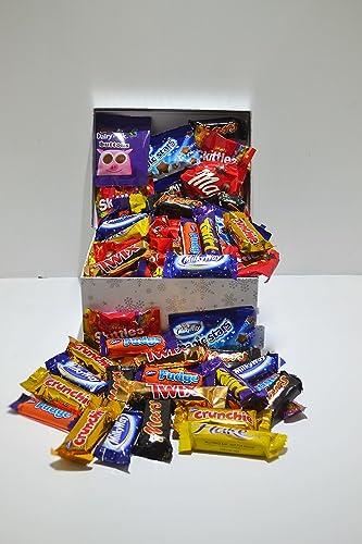 Chocolate Hamper. The Cadbury Nestle Mars Bonanza. 60 Treat size Bars / Bags.